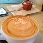 Fabulous coffee, delicious food and great customer service