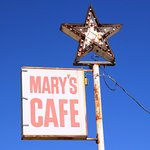 Mary's Cafe - Sign Out Front - September 2017