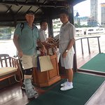 The staff on the River Taxis were very friendly and helpfull
