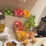 Excellent buffet breakfast and heritage hotel