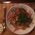 Delicious fresh prawns!! Fabulous fresh maki maki and sublime black pepper tofu