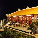 Roof deck temple (named Bieu Duc) - 17th floor