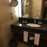 lavatory and toiletries