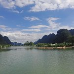 Yangshuo Yulong river.(The photo taken at Sep 2017).