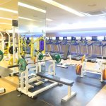 gym - 130,000KRW per month (membership fee)
