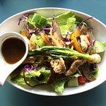 Chicken salad, healthy lunch option
