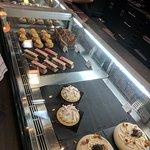 當天的甜點區