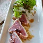Seared Tuna carpaccio