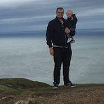 Me & my son at Great Orme Peak