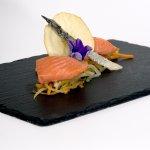 il salmone proposto dal nostro Chef