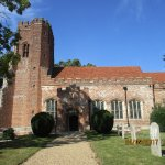 Church in the grounds of Layer Marney Tower