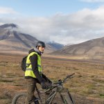 Great trip to see beautiful Adventdalen on electric fatbikes!