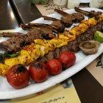 Mixed Kebab Dish