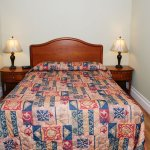 Private Queen bed in Family Suite