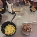 Delicious tapas! The curry chicken shown on the left was one of my favorites of the night!