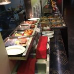 our new buffet!! availlable now!
