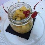 Salade d'ananas (quite mediocre)