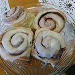 Wednesday is Cinnamon Bun morning!