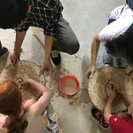 Pottery making in Bat Trang pottery village with Hanoikids Tours