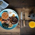 Yummy Yorkshire breakfast