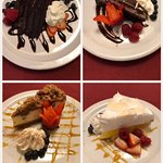Come in and try our yummy desserts:) #presentationbychefbrandon