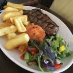 Sirloin steak as requested without mushroom