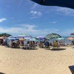 Mucha gente en playa