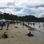 Playa muy llena :(