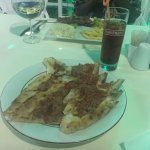 Loved Kumsal Pide and enjoyed the food  It was cheap and very filling with a good  Atmosphere