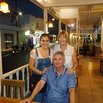 Sue and Ian with Rafaela (owner)