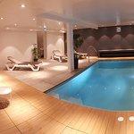 Le nouveau spa en sous-sol