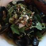 Pan Roasted Mussels ... out of this world!