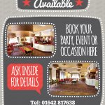 Function Room for Events and Business Meeting Available