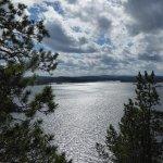 Lake Inari, on top of the Ukko island