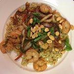 Asian Rice Bowl with Shrimp