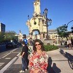 Visita al Puente de Maria Cristina