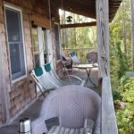 deck outside room