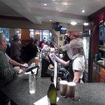 Bar/restaurant is always busy