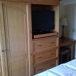 TV and Armoire in Bedroom