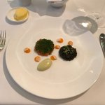 Caviar, Salmon and Smoked Egg-Breathtaking!