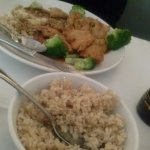 General Tso's Chicken and Brown Rice