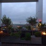penthouse bar area