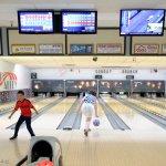 Bowling lanes at back-alley, Bishop CA USA