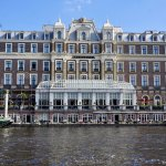 Amstel hotel from the Amstel River