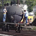 Our trains crew at work