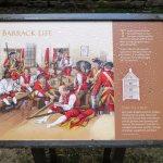 Barrack Life Information at Ruthven Barracks (04/Sept/17).
