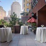 Terrace at Hotel Valencia Riverwalk