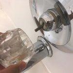 broken shower faucet