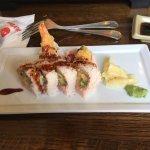 Wasabi, Asheville, NC - Shrimp Tempura Roll