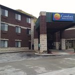 Front of Comfort Inn in Deadwood, SD.